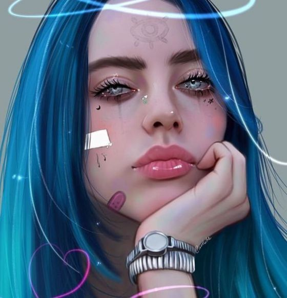 Billie Eilish fan art
